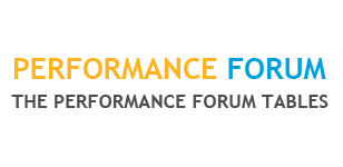 Performance Forum Tables